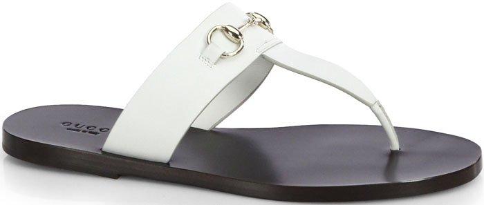 "Gucci""Marcy"" Bit Thong Sandal"
