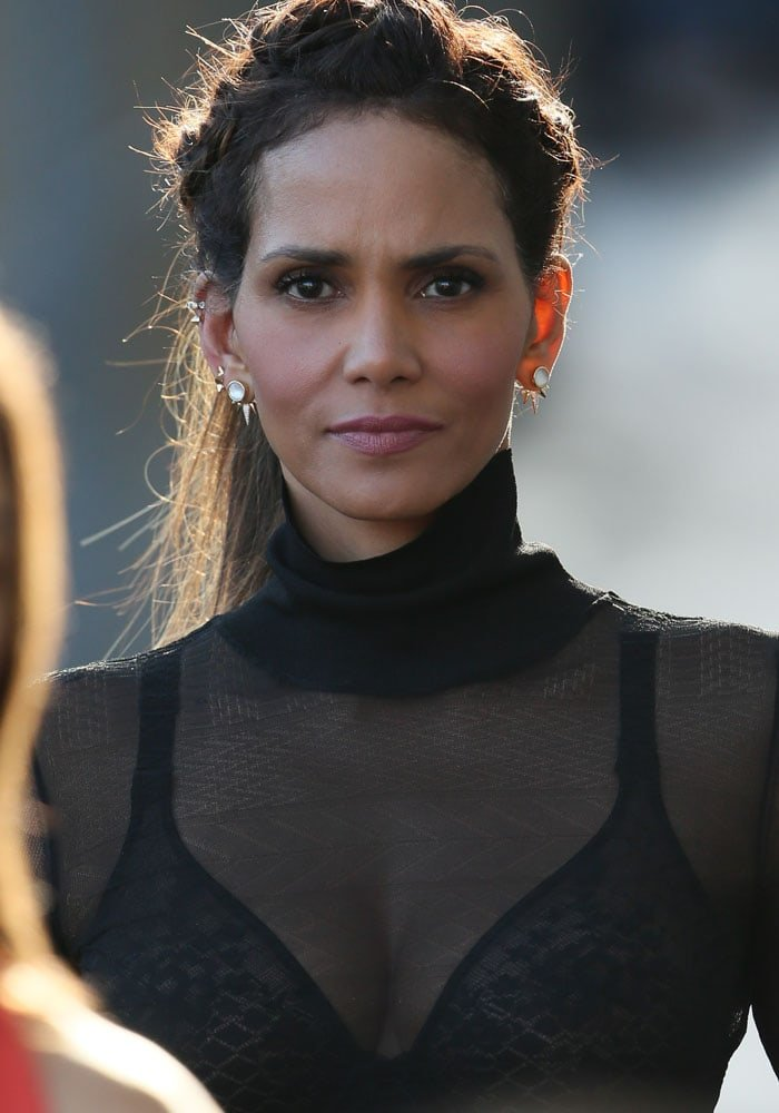 Halle Berry revealed on Jimmy Kimmel Live! that she believes in aliens
