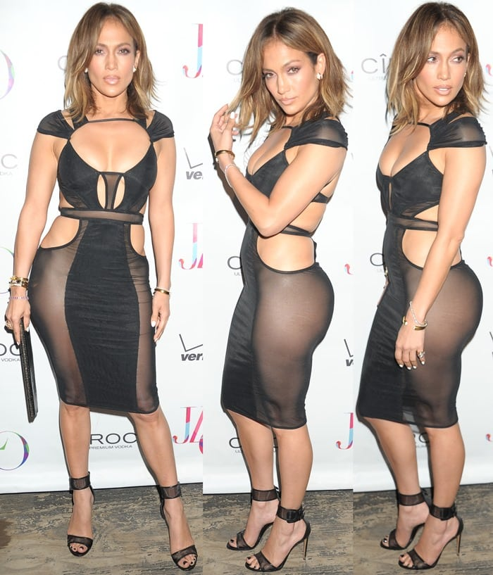 Jennifer Lopez Celebrates Her Birthday In The Hamptons