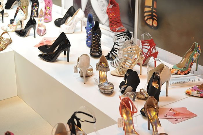 Heels and shoes from Jessica Wright's shoe collection