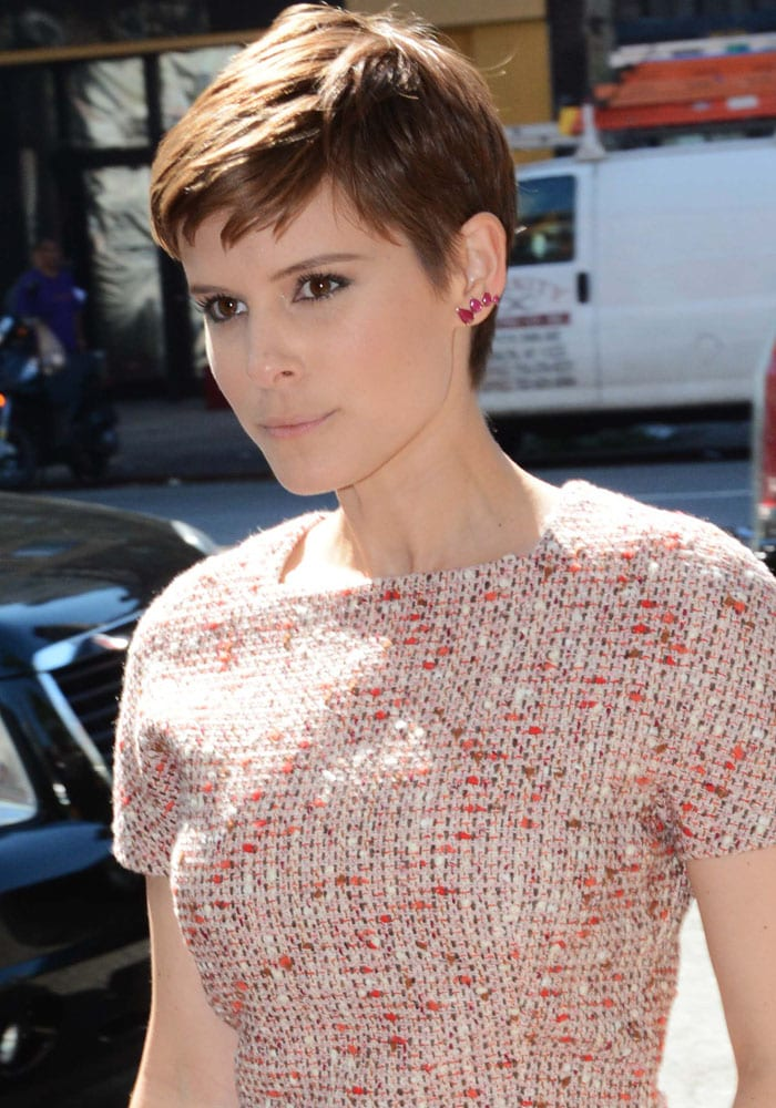 Kate Mara's father Timothy Christopher hates her chic pixie hairdo