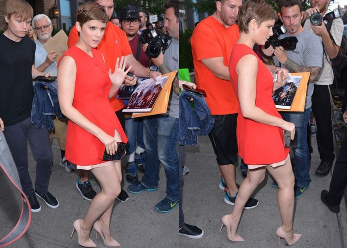 Kate Mara recently survived an interview with radio personality Jason. Bailey