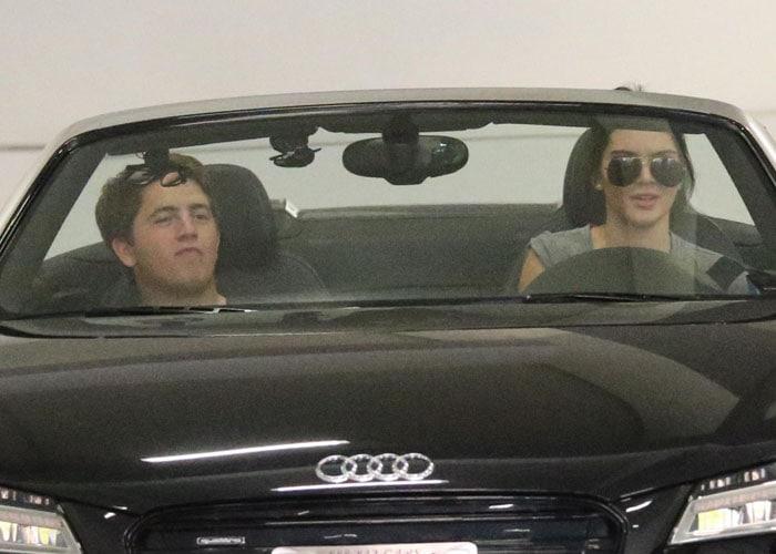 Kendall Jenner loves her new Audi R8 Spyder