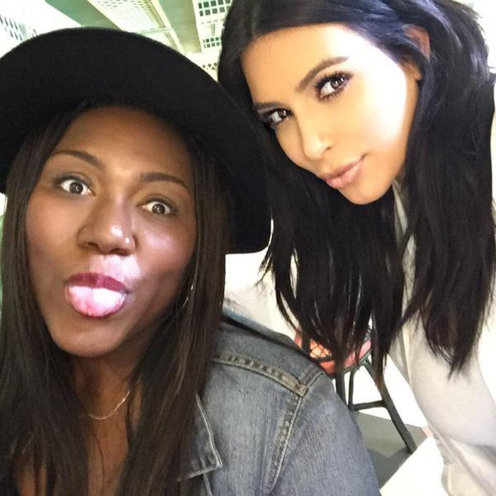 Kim Kardashian flew to New Orleans to celebrate the 21st birthday of her fan, Myleeza