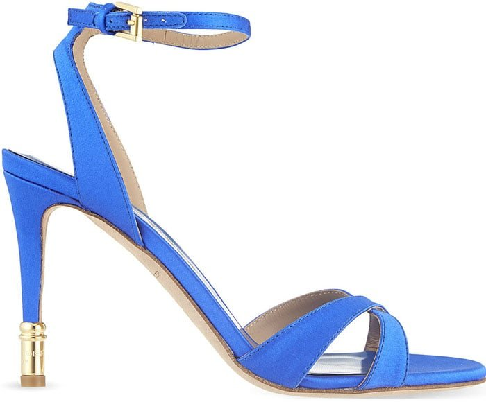 Kurt Geiger Chelsea Satin Sandals
