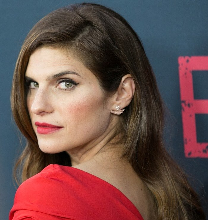 Lake Bell at the premiere of her latest film No Escape