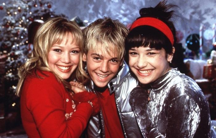 Aaron Carter was dating teen queen Hilary Duff when he appeared on her hit Disney Channel show Lizzie McGuire alongside Lalaine Vergara-Paras