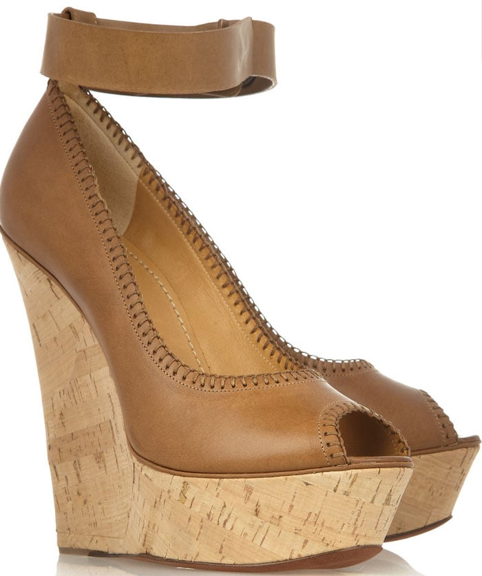 Lanvin Tiered Wedge