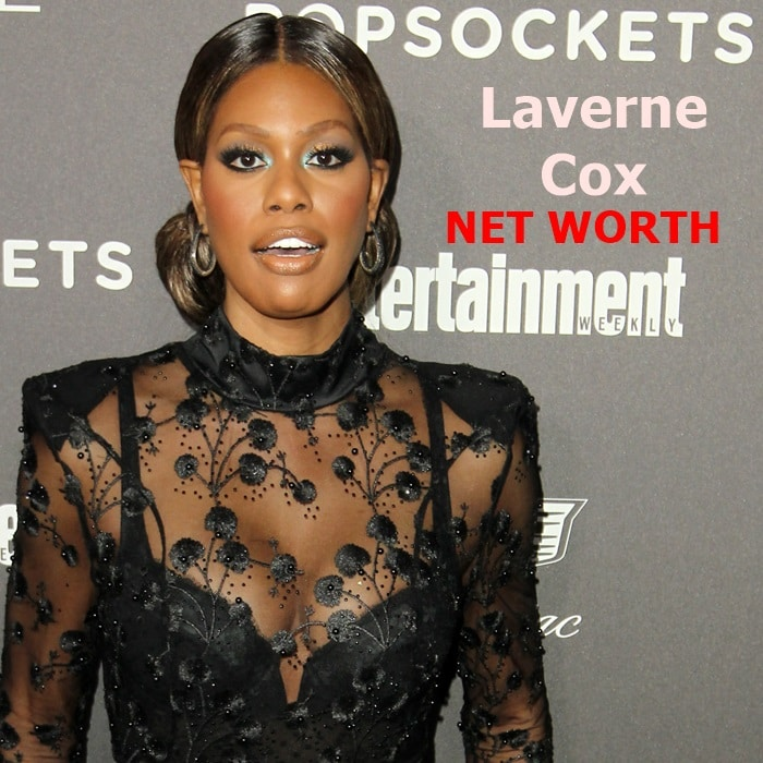 Laverne Cox's net worth in 2019 is $2 million