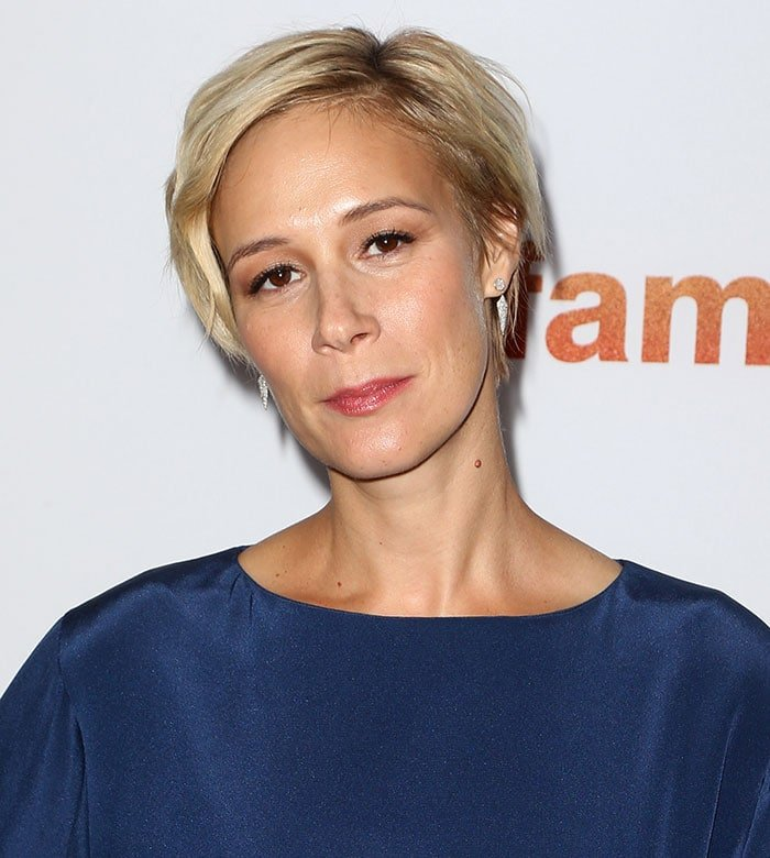 Liza Weil's side-swept pixie hairstyle