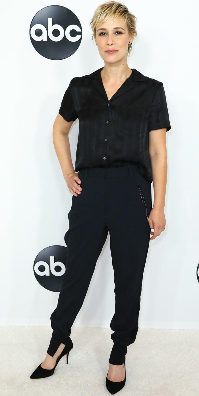 Liza Weil attends the Disney ABC Television TCA Summer Press Tour