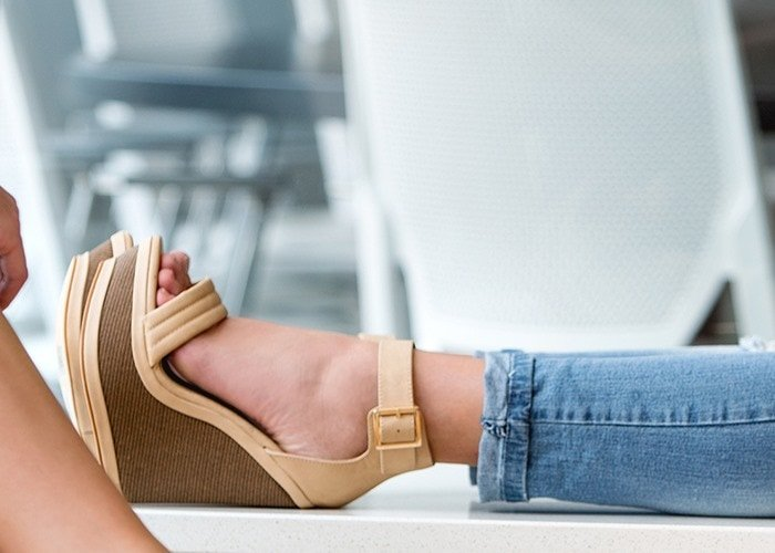 "Maker's ""Lola 7"" Statement Wedges"