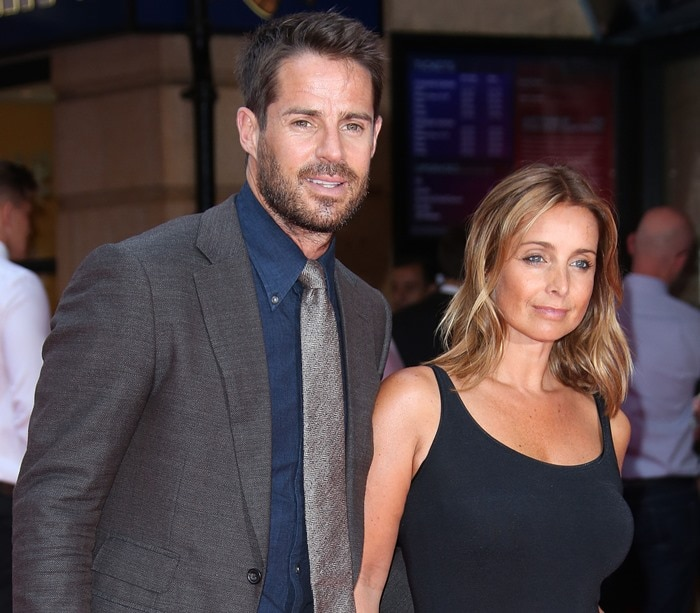Louise and Jamie Redknapp at the world premiere of 'The Bad Education Movie' at the Vue West End in London on August 20, 2015