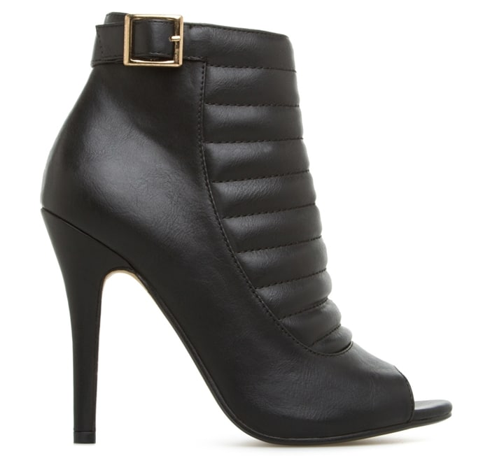 "Madison ""Cyndi"" Peep-Toe Booties"