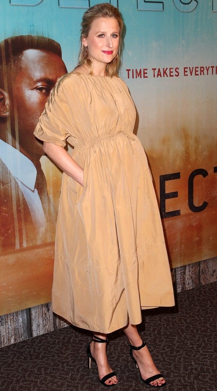 Mamie Gummer at the premiere of True Detective season three
