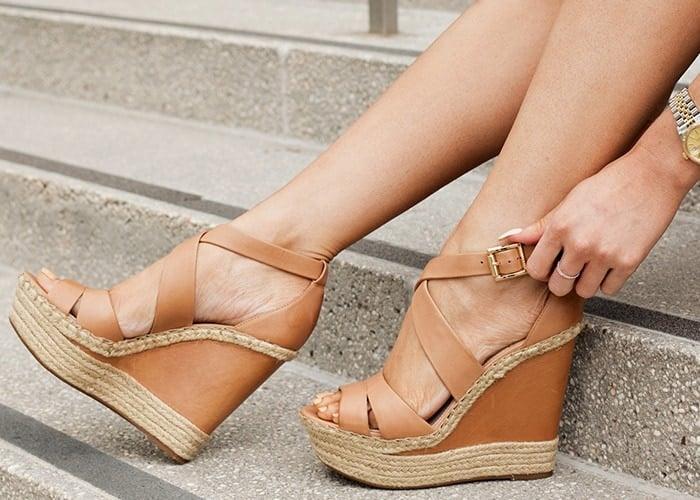 "Vince Camuto ""Marcela"" Wedge Sandals"