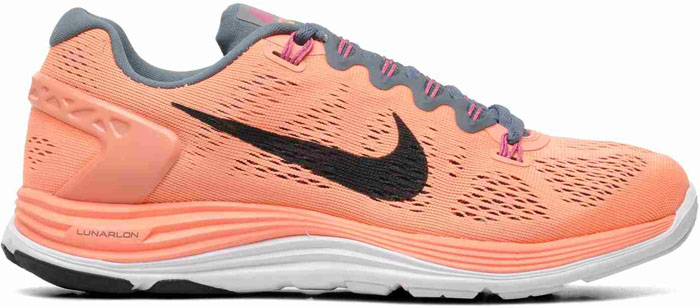 Nike LunarGlide 5 Womens Orange