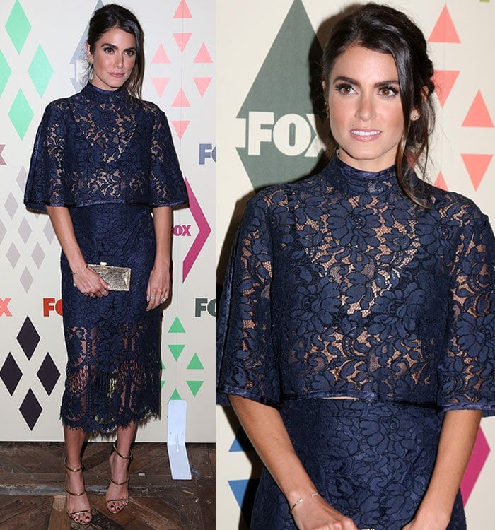 Nikki Reed at the 2015 Summer TCA Tour FOX All-Star Party