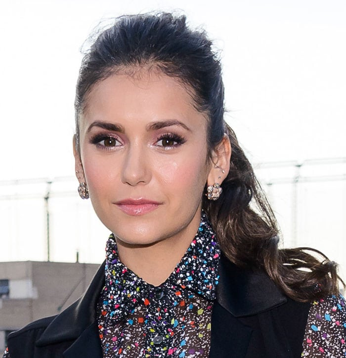 Nina Dobrev at People StyleWatch x Revolve Fall Fashion Party held at The High Line in New York City on August 12, 2015