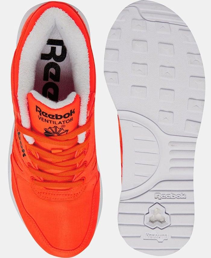 "Reebok ""Ventilator OG"" Solar Orange Sneakers"