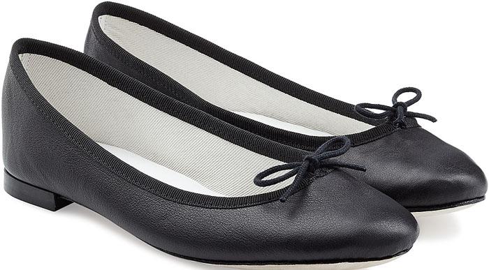 Repetto Cendrillon Leather Ballet Flats