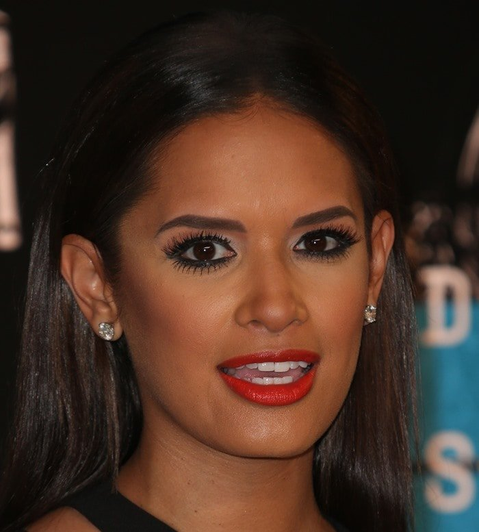 Rocsi Diaz attends the 2015 MTV Video Music Awards August 30, 2015 held at the Microsoft Theater in Los Angeles