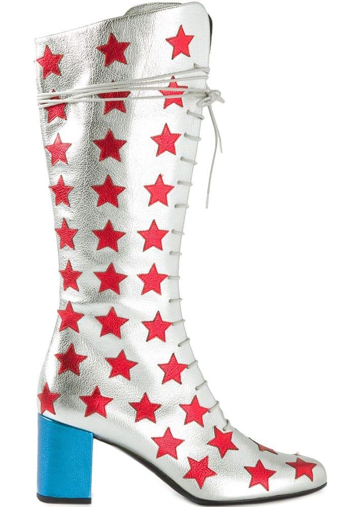Saint Laurent Babies Mid-Calf Boots