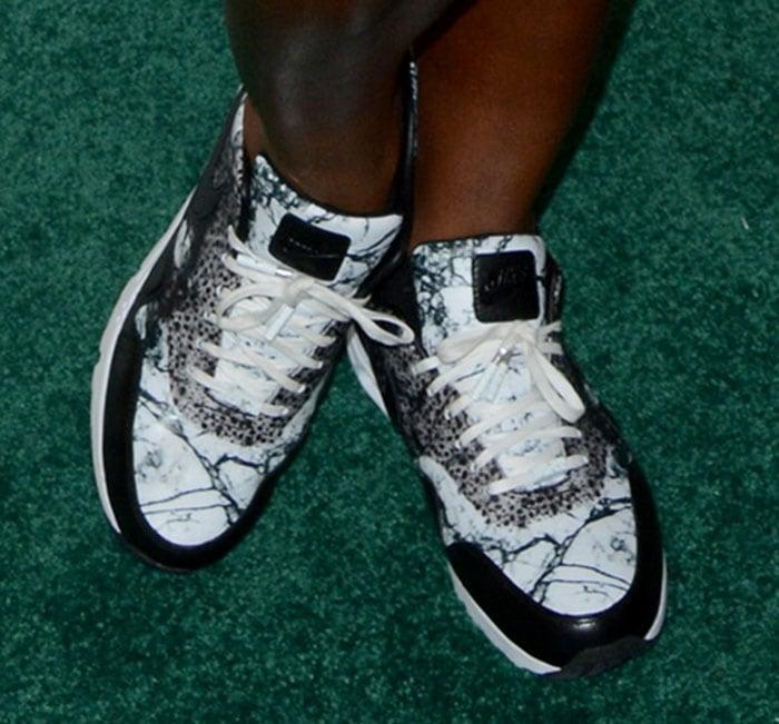 Serena Williams rocks NikeCourt Air Max 1 Ultra shoes