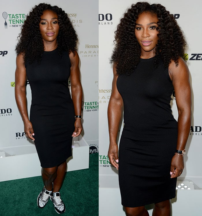 Serena Williams at the 2015 Taste of Tennis New York at the W New York Hotel
