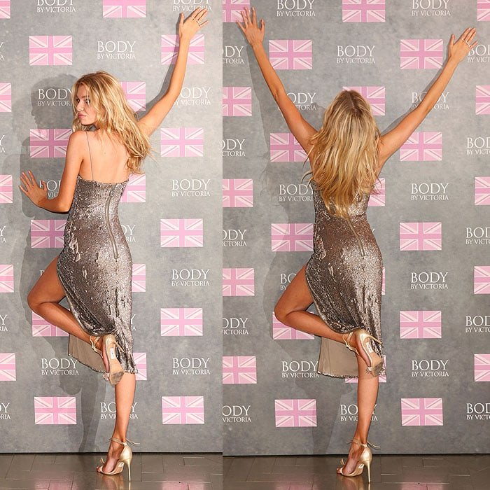 Stella Maxwell bra Victoria's Secret 2