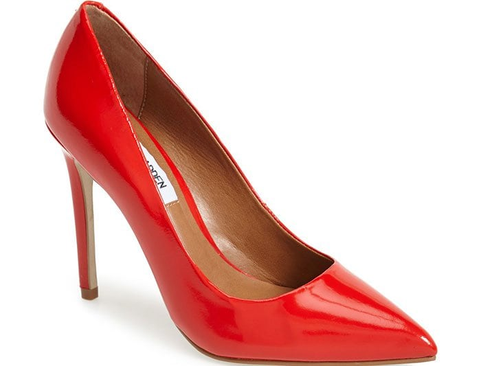 Steve Madden Proto Pointy-Toe Pumps Red