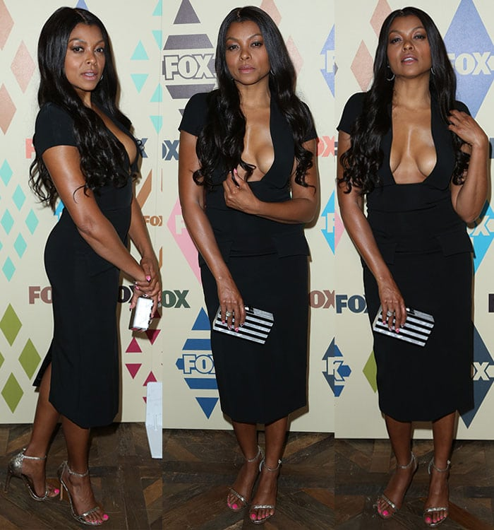 Taraji P. Henson at the 2015 Television Critics Association Summer Press Tour FOX All-Star Party at Soho House in West Hollywood, Los Angeles, on August 6, 2015