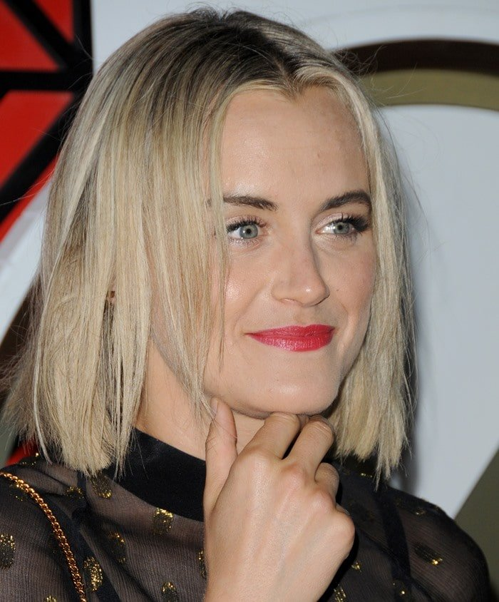 Taylor Schilling at W Hotels: All Aboard! Party held on the Grand Banks