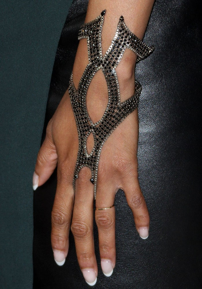 Tyra Banks with jewelry by Lionette and Ruby Stella