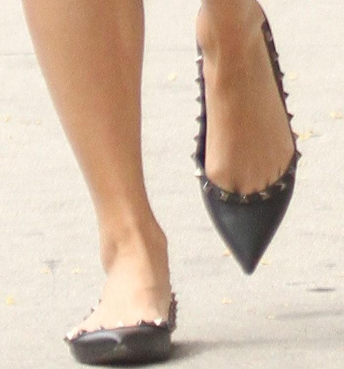 Vanessa Hudgens Injured Valentino 2