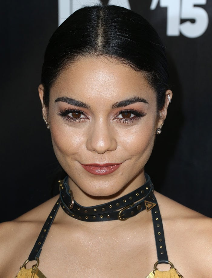 Vanessa Hudgens with fierce makeup shared her thoughts on cancer