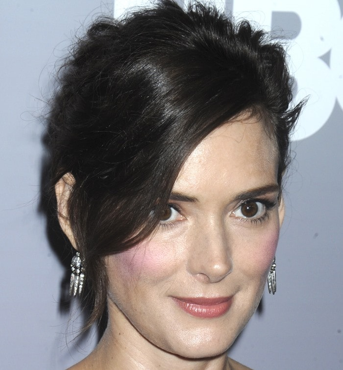 Winona Ryder is known for her beautiful, huge eyes