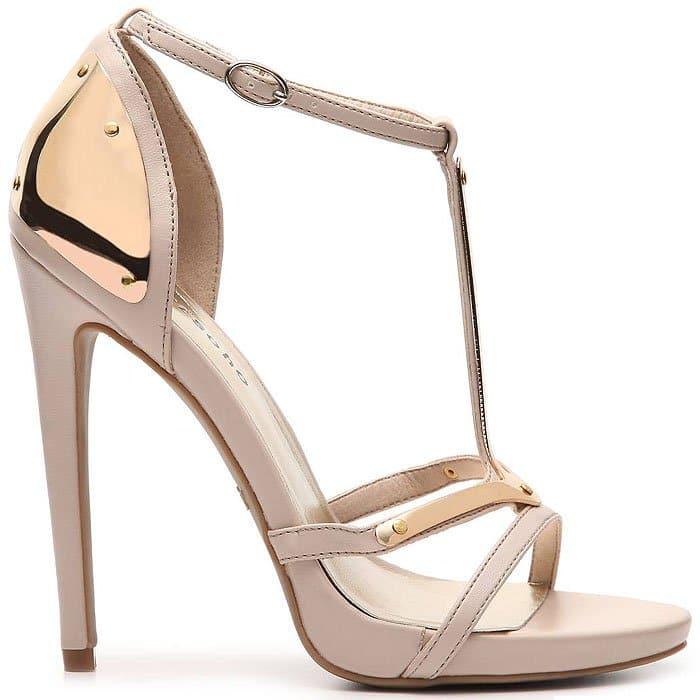 Zigi Soho Midway Gold-Plated Sandals