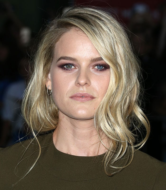 """Alice Eve attends the red carpet premiere of """"Before We Go"""""""