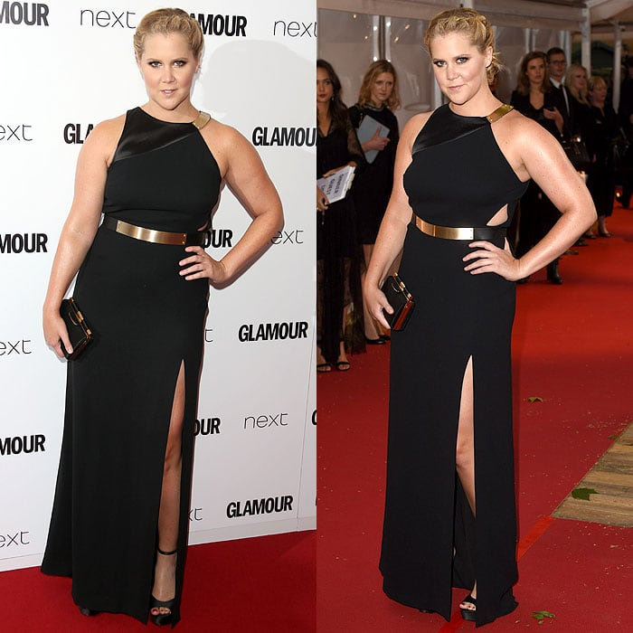Amy Schumer attends the 2015 Glamour Women of the Year Awards held at Berkeley Square Gardens
