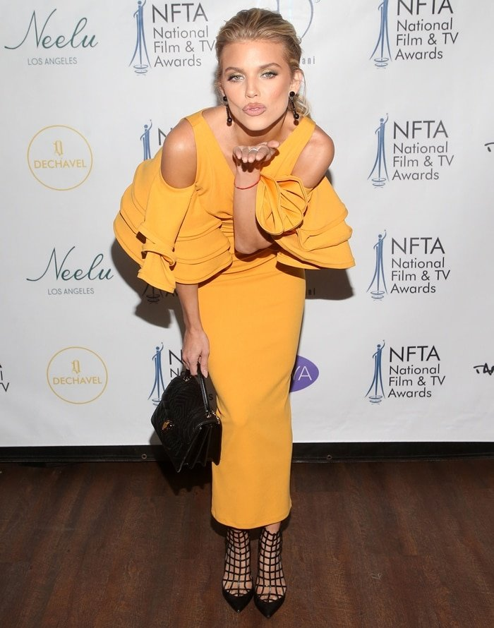AnnaLynne McCord attends the 2nd annual National Film and TV Awards