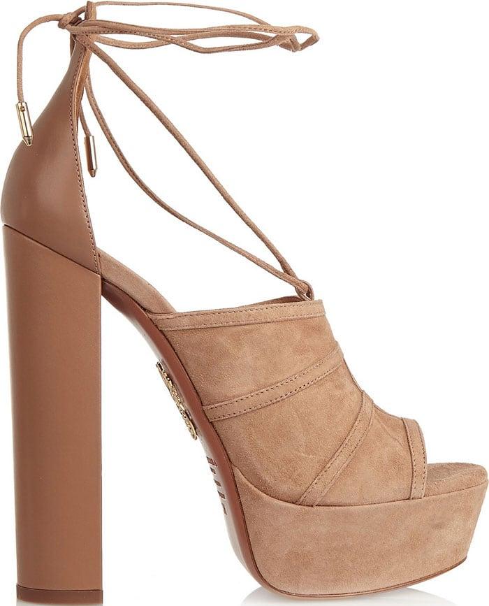 "Aquazzura ""Very Eugenie"" Platform Sandals"