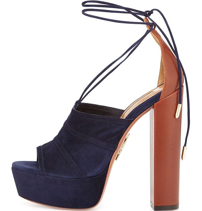 Aquazzura-Very-Eugenie-sandals-brown-navy