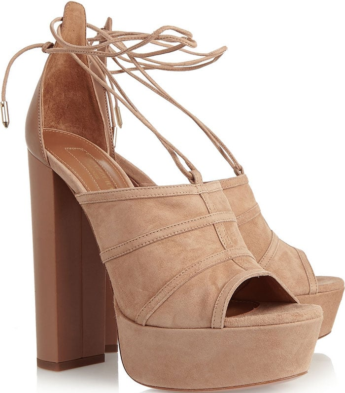 Aquazzura-Very-Eugenie-suede-and-leather-sandals