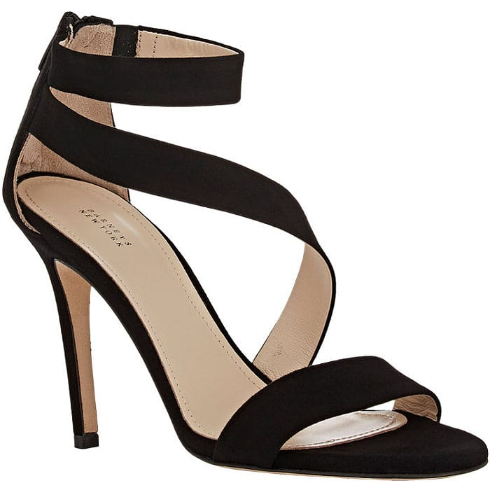 Barneys New York Asymmetric Strap Sandals