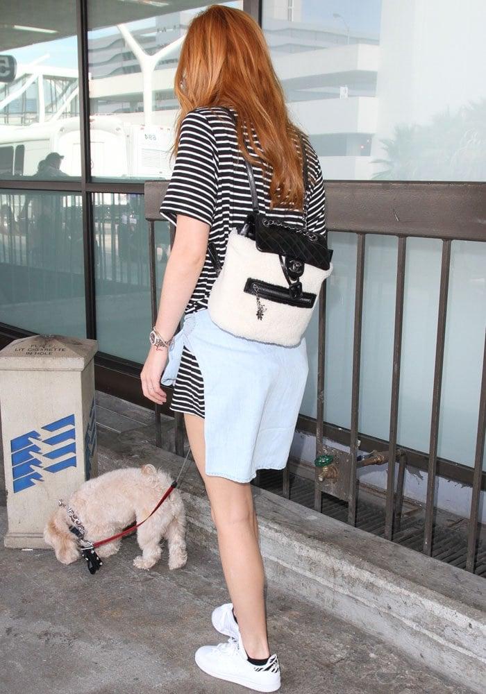 Bella Thorne LAX Adidas 4