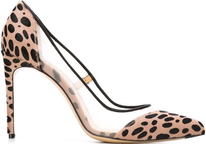 Bionda Castana Bay Pumps Leopard Print