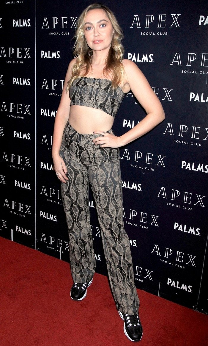 Brandi Cyrus makes a special guest DJ appearance at the Apex Social Club