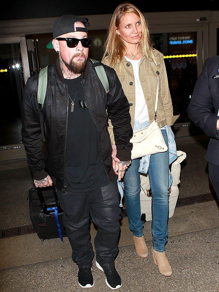 Husband-and-wife Benji Madden and Cameron Diaz