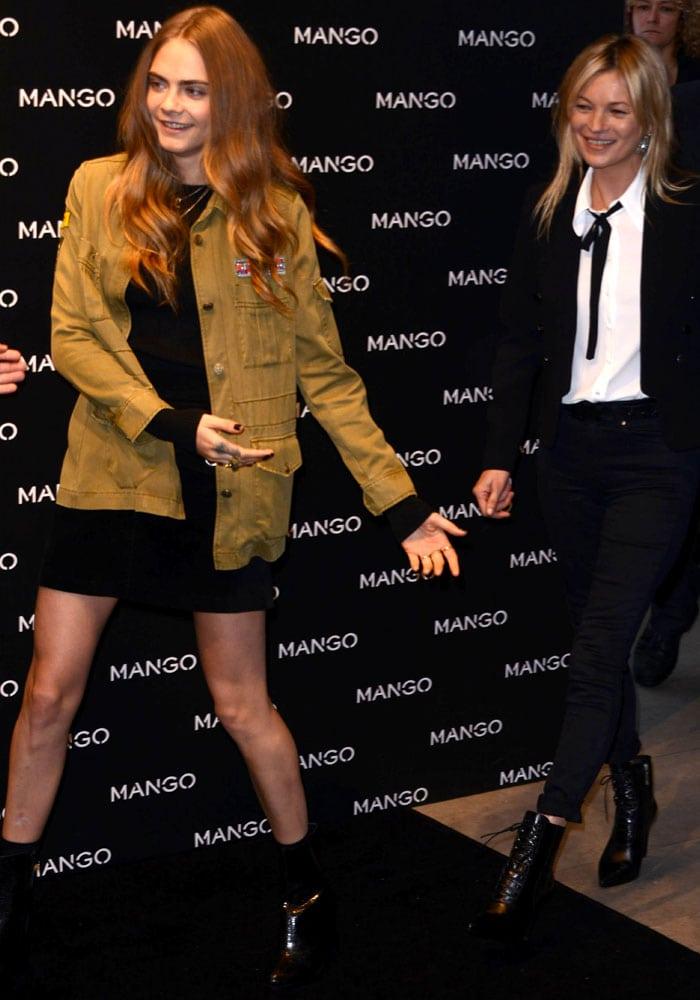 Cara Delevingne Mango Kate Moss 5